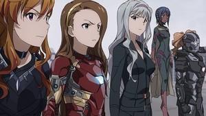 Captain America: Civil War - アニメ Style