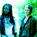 Carol and Michonne - the-walking-dead-carol-peletier icon