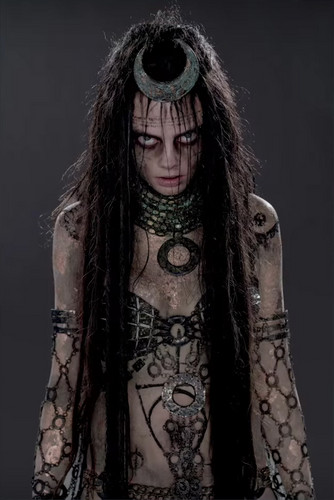 Suicide Squad Hintergrund titled Character Promos - Cara Delevingne as Enchantress