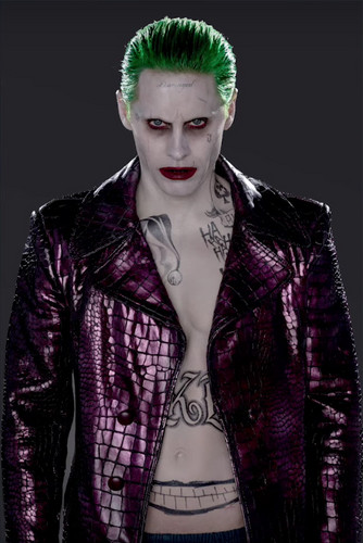 Suicide Squad wallpaper probably containing a well dressed person called Character Promos - Jared Leto as The Joker