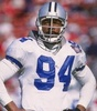 ডালাস কাউবয় ছবি possibly with a tailback, a lineman, and a বেশ্যার খদ্দের entitled Charles Haley