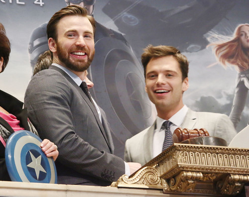 Chris Evans & Sebastian Stan wallpaper called Chris Evans and Sebastian Stan