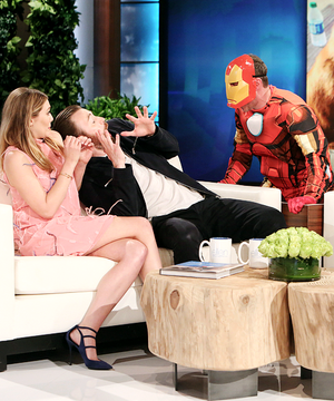 Chris Evans getting scared par Iron Man ft. Elizabeth Olsen