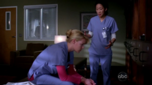 Cristina and Izzie 3