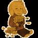Cute Asriel Dreemurr pixel art - undertale icon
