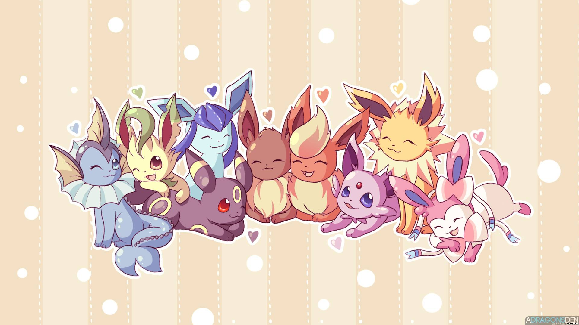 Cute Pokemon kertas dinding
