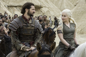 Daenerys and Daario