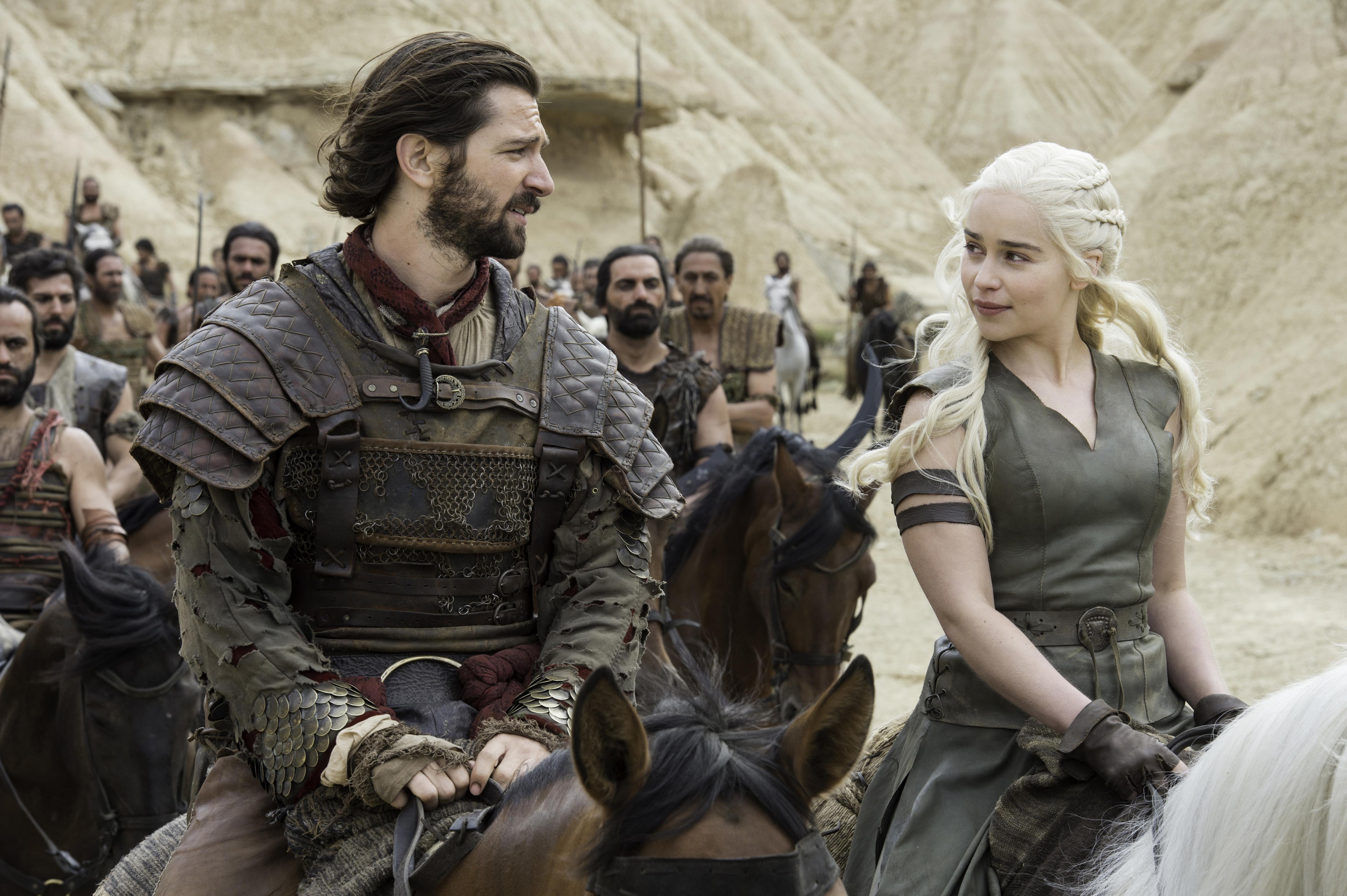 Daenerys and Daario