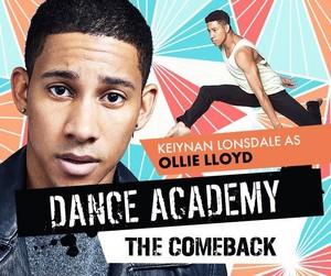 Dance Academy: The Comeback Cast - Keiynan Lonsdale as Ollie Lloyd
