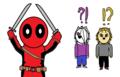 Deadpool - alpha-and-omega fan art