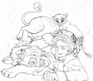 pango and lions