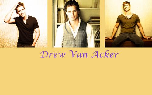 Drew バン Acker 壁紙 entitled Drew バン Acker