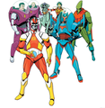 Earth 17 Atomic Knights Of Justice - dc-comics photo