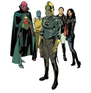 Earth 20 Society Of Super Heros