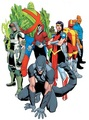 Earth 41 Dino Cop and other heroes - dc-comics photo