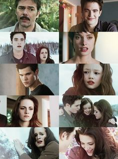 Edward Bella Jacob Alice and Renesmee