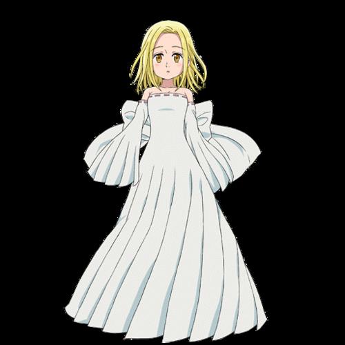 Nanatsu No Taizai karatasi la kupamba ukuta entitled Elaine ?