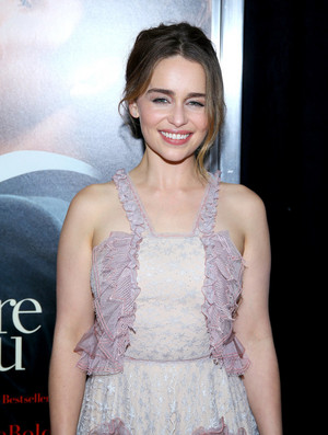 Emilia Clarke Me Before anda NYC Premiere