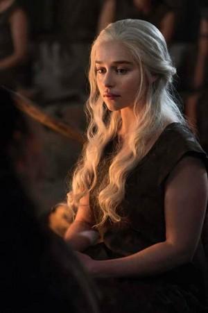 Emilia as Daenerys