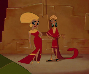 Emperor Kuzco and Empress Malina