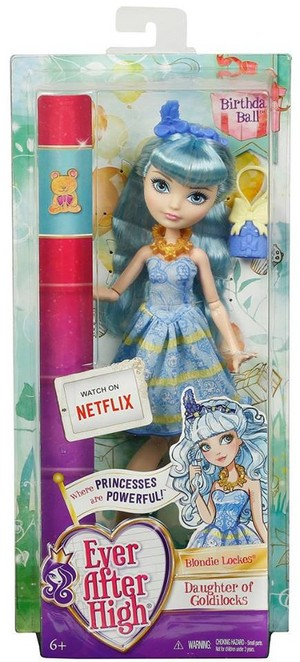 Ever After High Birthday Ball Blondie Lockes doll