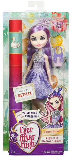 Ever After High Birthday Ball Duchess лебедь doll