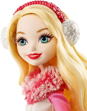 Ever After High Epic Winter яблоко White doll