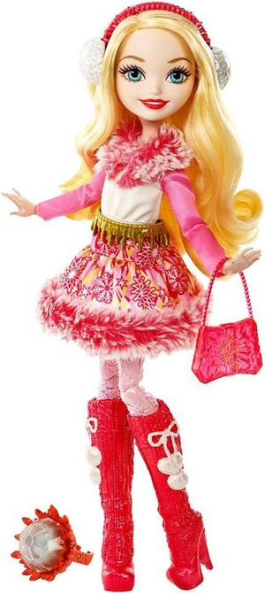 Ever After High Epic Winter maçã, apple White doll