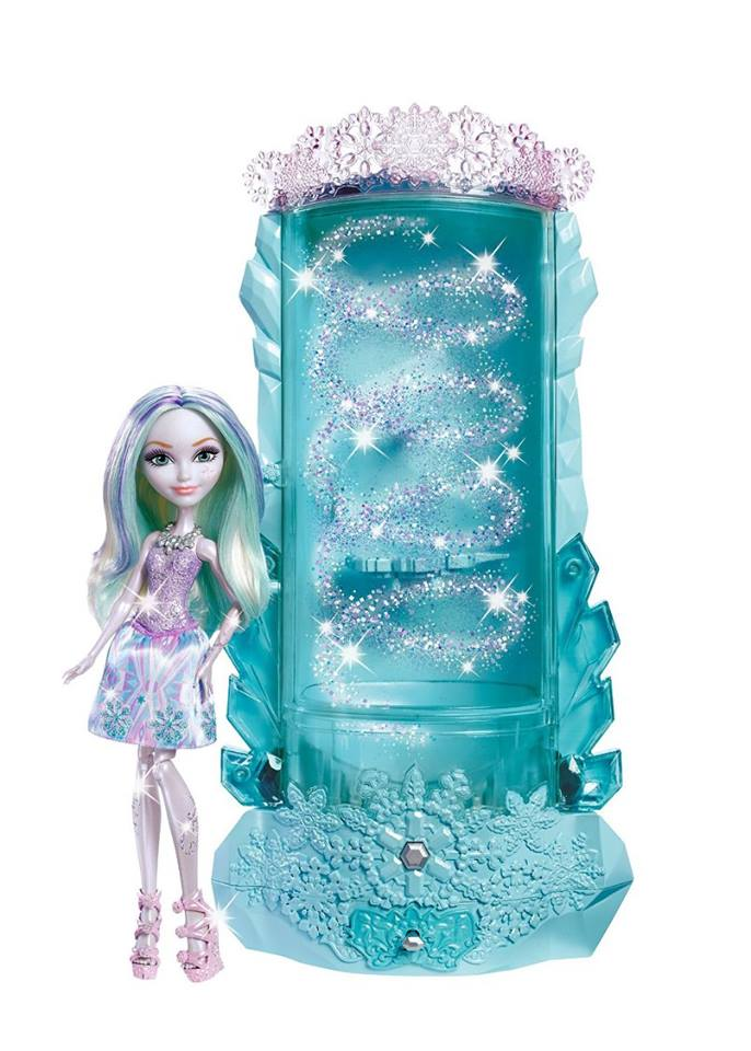 Ever After High Epic Winter Winter Sparklizer Playset with Crystal Winter doll