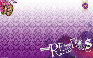 Ever After High Rebels kertas dinding