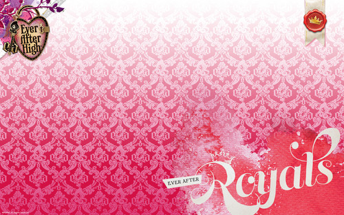 Ever After High wallpaper called Ever After High Royals wallpaper