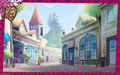 Ever After High The Village of Book End Hintergrund