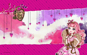 Ever After High True Hearts Tag Hintergrund