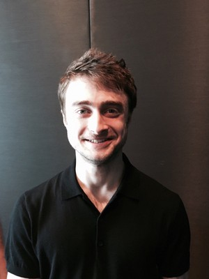 """Exclusive: Daniel Radcliffe at the """"Now You See Me 2"""" Junket (Fb.com/DanielJacobRadcliffeFanClub)"""