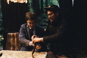 Exclusive HD: Swiss army man behind the scenes (Fb.com/DanielJacobRadcliffeFanClub)