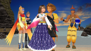 Final Fantasy X 1 and 2 Romances Perfect Love..