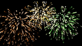 Fireworks Wallpaper - the-princess-and-the-frog wallpaper