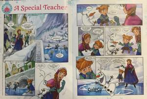 Frozen Comic - A Special Teacher
