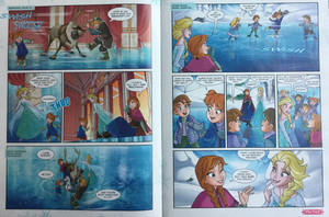 La Reine des Neiges Comic - A Special Teacher