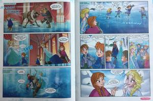 ফ্রোজেন Comic - A Special Teacher
