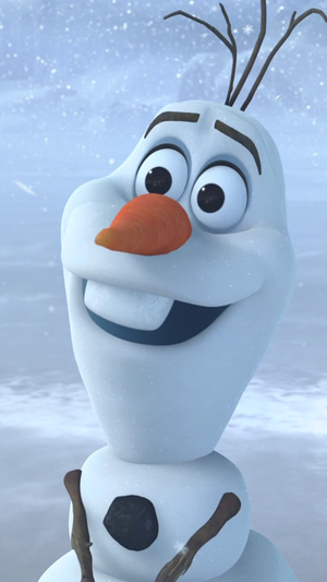 Frozen Olaf Phone Wallpaper