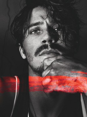 Garrett Hedlund - Interview Magazine Photoshoot - December 2012