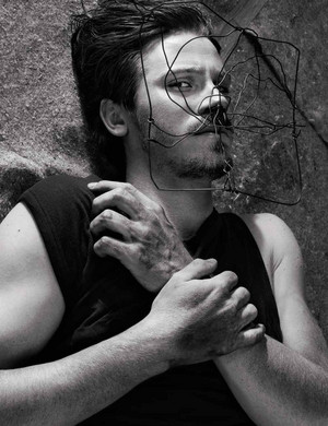 Garrett Hedlund - Interview Magazine Photoshoot - December 2012