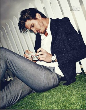 Garrett Hedlund - L'Optimum Style Photoshoot - March 2014