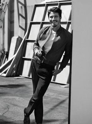 Garrett Hedlund - Man of the World Photoshoot - March 2014