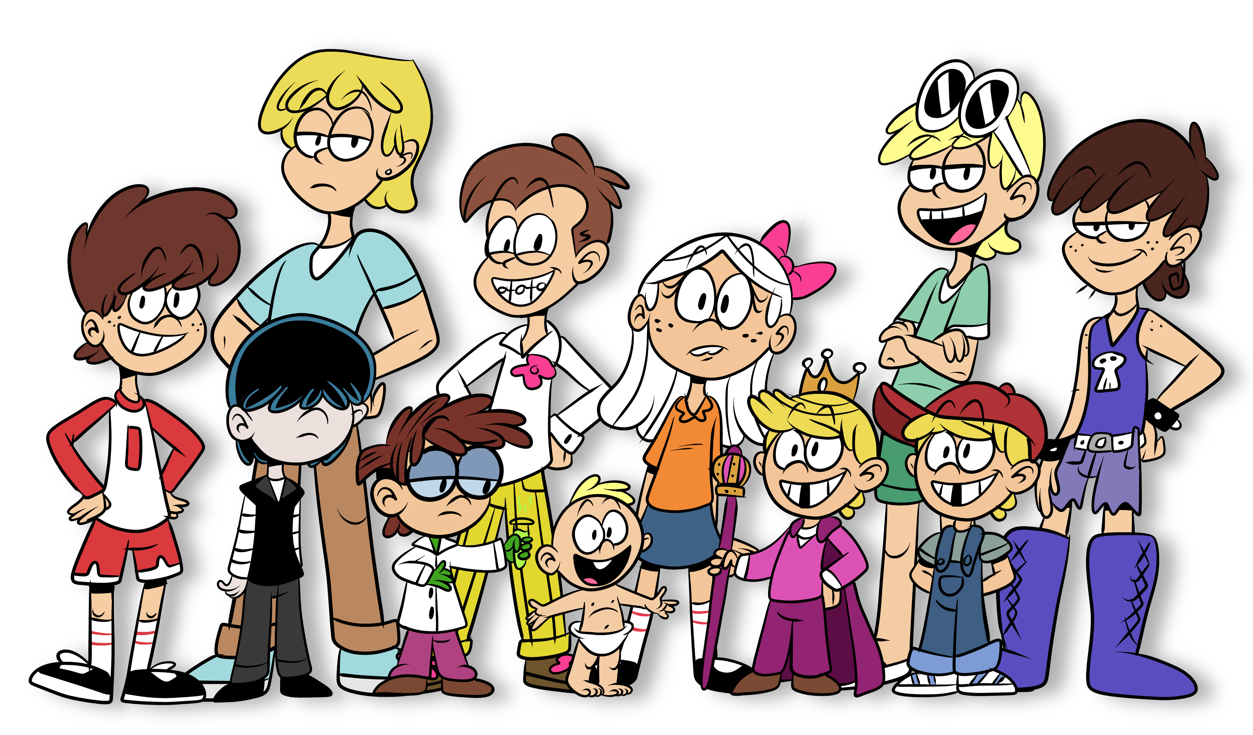 The Loud House Im 225 Genes Genderbend Hd Fondo De Pantalla And Background Fotos 39606223