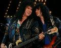 Gene and Bruce ~Austin, Texas…May 6, 1990 - kiss photo