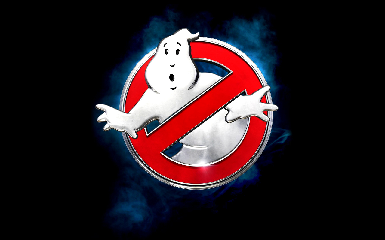 Ghostbusters 2016 logo wallpaper