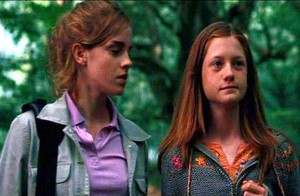 Ginny and Hermione