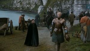 Gwendoline Christie as Brienne (Game of Thrones)